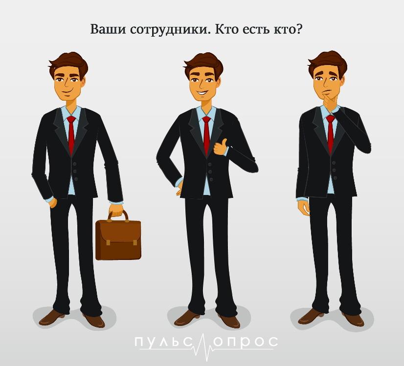 3 вида сотрудников